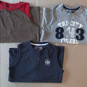 Lot of Boys Sleeveless Shirts (you get 3 Shirts)